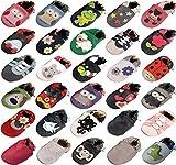 MiniFeet Premium Weiche Leder Babyschuhe 0-6