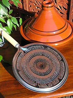 Heat Diffuser With Wooden Handle by Maroque