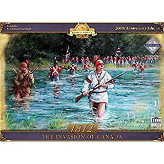 Academy Games ACA05312 1812 The Invasion of Canada Board Game