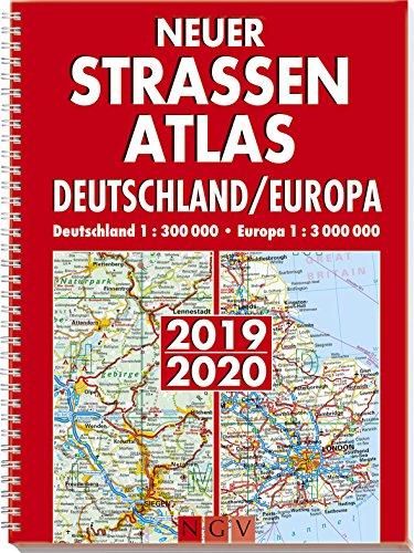 Neuer Straßenatlas Deutschland/Europa 2019/2020: Deutschland 1 : 300 000 . Europa 1 : 3 000 000 -