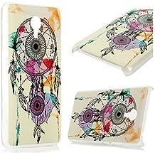 Meizu M2 Note Funda Cubierta - Lanveni Elegante Carcasa Rigida PC ultra delgada para Meizu M2 Note Pintura translúcido Protective Case Cover - Patrón Dreamcatcher Diseño