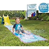 Blow Up Water Slide For Kids Infatable Activity Center Play Center Best Childrens Outdoor Slip Backyard Waterpark Splash Pool Outside Home Lawn Water Kiddie Summer Fun Toy And eBook By NAKSHOP
