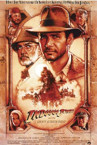 "Póster ""Indiana Jones"" (68,5cm x 101,5cm)"