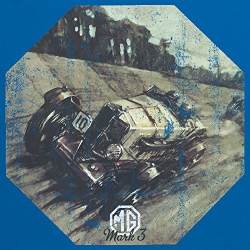 British Motor Heritage T-Shirt, Herren Royalblau