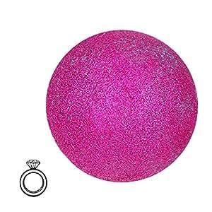JewelBath Glamorous in Pink - Boule de bain avec bijou surprise (bague en argent, soin hydratant)(L)