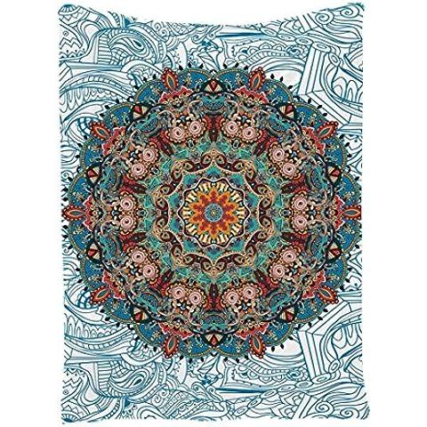 Teli Mare , Ouneed®Tribal Stampato Tapestry Wall Hanging Attraverso la Spiaggia di Occultamento del Bikini Swimwear,145*180cm(W*L)