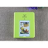 64 Pockets Mini Album Case Storage For Polaroid Photo FujiFilm Instax Film Size (green)