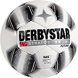 Fußball Derbystar STRATOS TT FUTURE, Gr.5, weiß/schwarz/weiß, 10er-Set