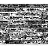 murando Fotomurales 150x105 cm XXL Papel pintado tejido no tejido Decoración de Pared decorativos Murales moderna Diseno Fotográfico ventana Piedras f