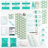Erste-Hilfe-Set mit Kühlakkus, Augenspülung und Rettungsdecke 90-teilig Test