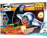 Star Wars Rebels Fahrzeug + Figur - The Inquisitors - Tie Advanced Prototype B0520