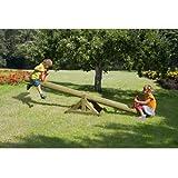 Wippschaukel Kinderwippe Wippe 300 cm aus Holz von Gartenpirat®