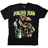 تي شيرت للبالغين مطبوع عليه Ripple Junction WWE Macho Man Randy Savage Collage