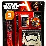 Star Wars - Schreibset Bleistift Radierer Lineal Block Anspitzer - 5-teilig/1St