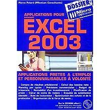 Excel 2003 (CD-Rom inclus)