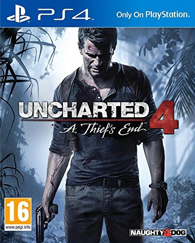 Uncharted 4: A Thief's End (PS4) 615Q3JuQzdL
