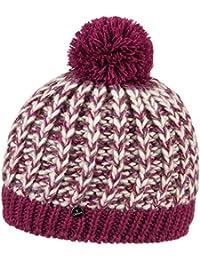 Lierys Multicolor Pudelmütze für Damen und Herren Skimütze Wintermütze Beanie mit Futter, mit Futter, mit Futter Herbst Winter