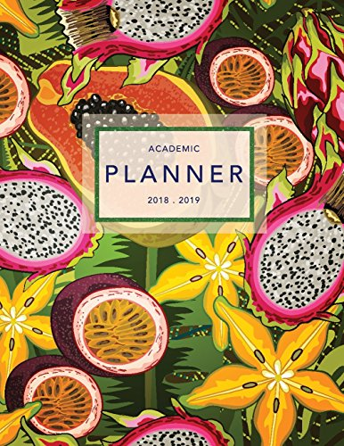 Academic Planner 2018-2019: Tropical Plants | Weekly + Monthly Views | To Do Lists, Goal-Setting, Class Schedules + More (August 2018 - July 2019): Volume 4 (2018-2019 Student Planners) por Jolly Journals
