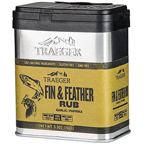 Traeger Fin & Feather Rub, 156 gr. Aluminium Dose -