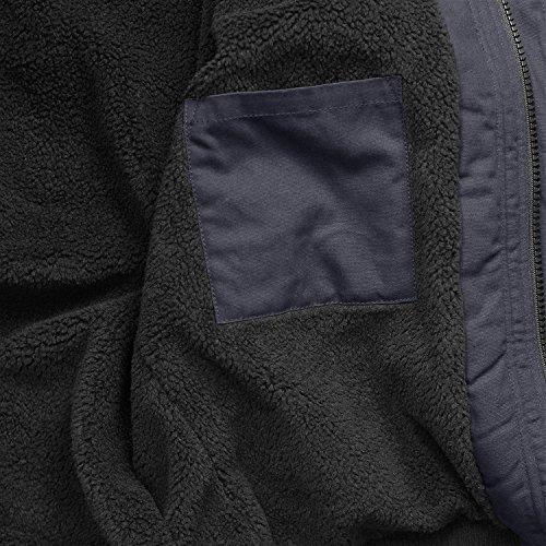 Brandit Winterjacke Grizzly DKL.-blau - S - 3