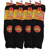 3 Pairs Mens Short Thermal Socks Size 6-11