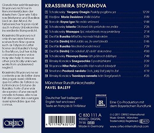 Slavic Operas Arias