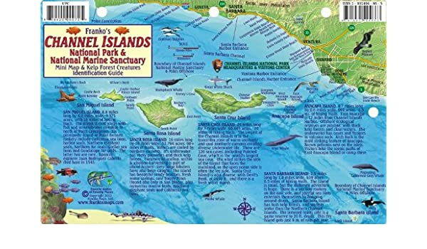 Amazon.in: Buy Channel Islands National Park Map & Kelp Forest ...