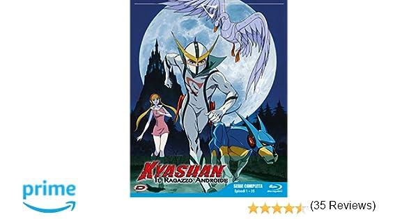 Kyashan Il Ragazzo Androide Eps 01 35 4 Blu Raybooklet Amazonit