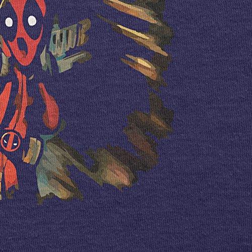 TEXLAB - Pool Scream - Damen T-Shirt Navy