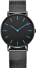 Alienwork IK Herren-/Damen-Uhr Ø 40mm mit Milanaise-Armband