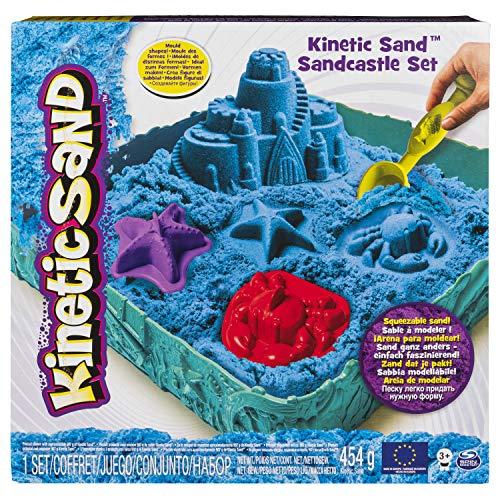 Kinetic - Set de Arena cinética y Caja, Color Azul (6029058)