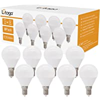 Litogo Lampadina LED E14, 6W 3000K Luce Bianca Calda 550 lumen LED Base Classic Lampadina Consumo Basso Risparmio…