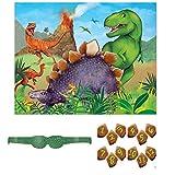 Unique Party Juego de Fiesta de Dinosaurios para 12 (58308)