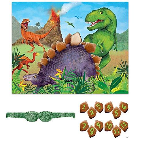 Geburtstagspartyzubehör Dinosaurier (Pin Spiele Der Schwanz)