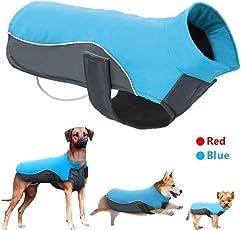 Warme Sportweste für Hunde von Berry, reflektierend, Schnee-Bekleidung, in 8 Größen erhältlich für kleine, mittelgroße und große Hunde
