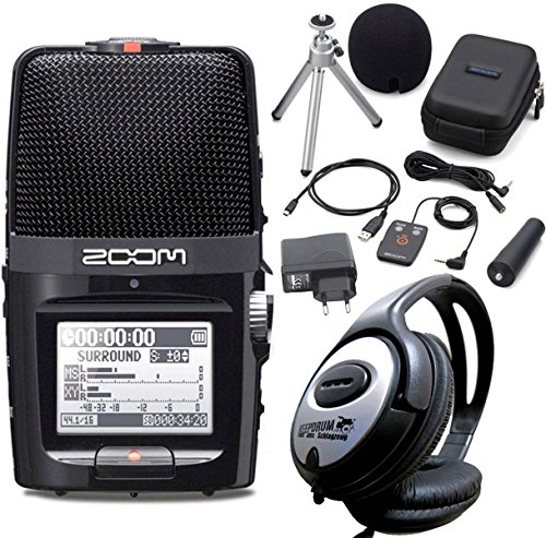 Zoom H2N - Kit de grabación (grabadora + auriculares + accesorios)