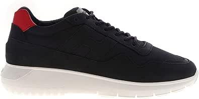 Hogan Luxury Fashion Uomo HXM3710AJ15OCY619T Blu Camoscio Sneakers | Autunno-Inverno 20