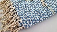 Fouta Playa: un aussergewöhnlicher plastica, tessuto in 100% Cotone Pettinato di alta qualità. herrlich morbido con un elegante motivo a lisca di pesce. Questi panni sono davvero ideale. E la extra lunghe frange lo rendono un Hingucker. Ideal...