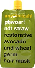 Anatomicals Phwoar! Not straw restorative avocado and wheat germ hair mask.