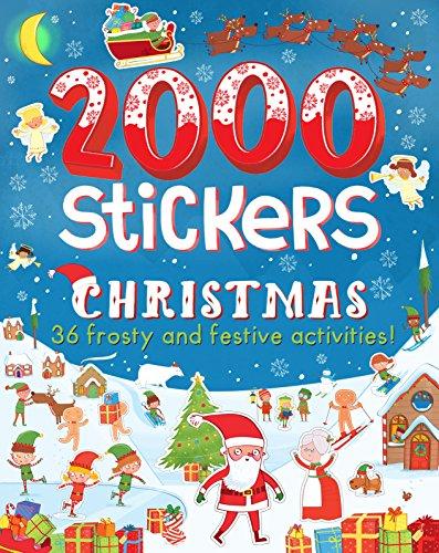 2000 Stickers Christmas