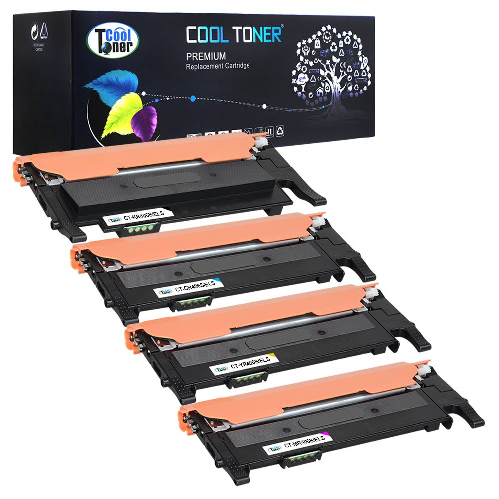 Cool Toner Compatible Remanufactured Toner CLT-K406S /ELS CLT-C406S /ELS CLT-M406S /ELS CLT-Y406S /