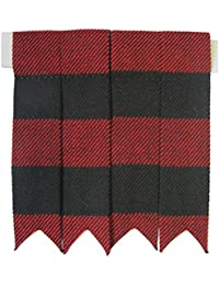 Tartanista - Flashes de chaussettes de kilt - couleur unie/tartan Royal Stewart/tartan Black Watch/etc. - Rob Roy
