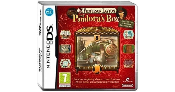 Professor Layton and Pandora's Box (Nintendo DS): Nintendo Ds