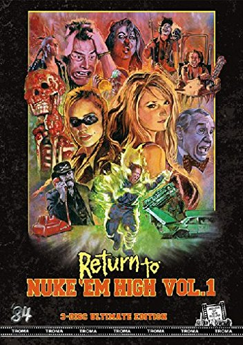 Return to Nuke'Em High Vol.1 - Ultimate Edition (+ 2 DVDs) [Blu-ray]