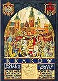 Vintage Reisen, Polen für Krakau mit Polish State