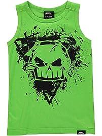 928981dc No Fear Boys Graphic Vest Top Crew Neck