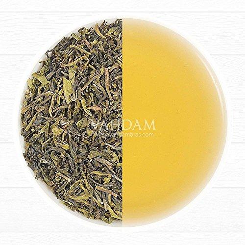 VAHDAM, Green Tea Leaves from Himalayas, (50 Cups) 100g | 100% Natural Tea | Powerful Anti-OXIDANTS | Brew Hot Tea, Iced Tea or Kombucha Tea | Loose Leaf Tea for Weight Loss | Loose Leaf Detox Tea