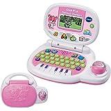 Vtech - 139555 - Jeu électronique - Ordinateur P'tit - Genius Ourson - Rose - Version FR