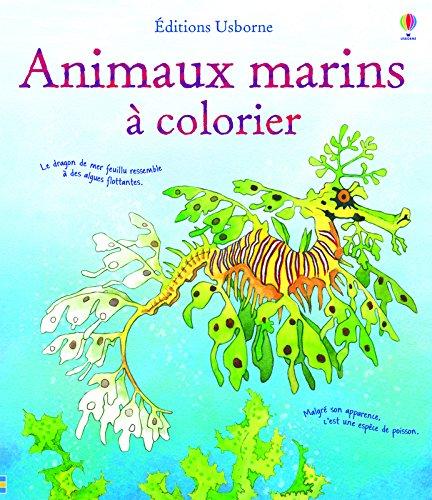 Animaux marins à colorier
