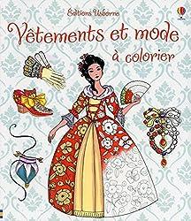 Vêtements et mode à colorier